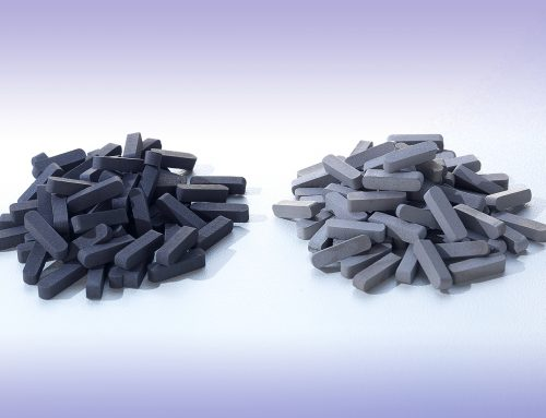Coated and uncoated TSP components
